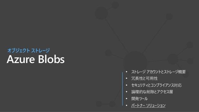 パートナー ソリューション Azureとのハイブリッド ストレージ Partner Product Solution Key Differentiators Enterprise File Service SMB/NFS, global fil...