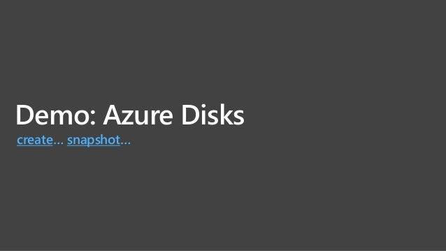 Azure Files リフト & シフト 多様なクライアントプロトコル SMB 2.1, 3.0, REST Windows, Linux, Mac OS Azure と オンプレミス セキュア 保存データの暗号化 SMB経由のセキュアな接続...