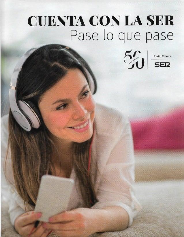 La radio del futuro. 50 Aniversario Radio Villena Cadena SER.