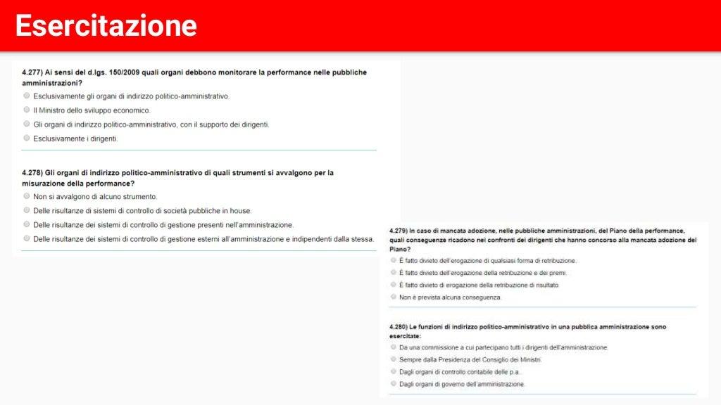 Corso di preparazione ai concorsi - Lezione 12 di 13 page 109