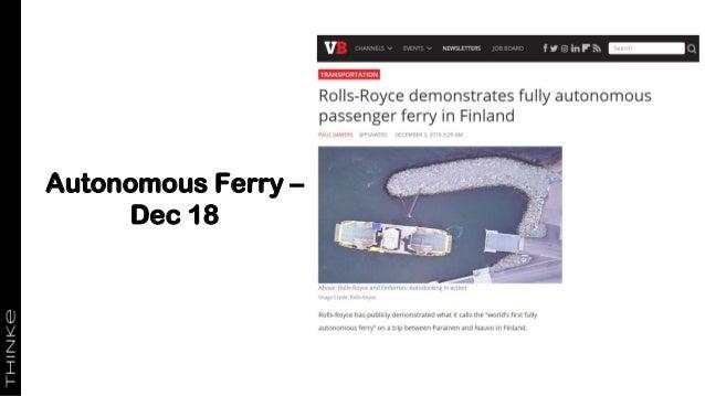 Autonomous Ferry – Dec 18 BBC Click Rolls-Royce's Intelligent Awareness system