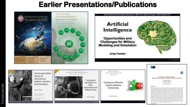 Earlier Presentations/Publications