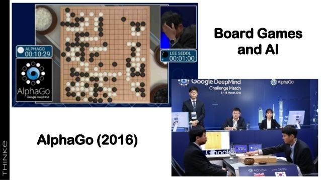 """AlphaGo Zero"" (Oct 2017) • The next DeepMind incarnation was ""AlphaGo Zero"", with a new neural net design • Trained in 3 ..."