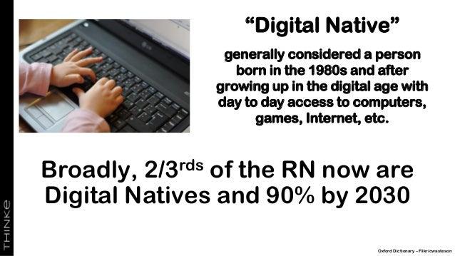 What's Next? Digital Native Pixabay/YouTube Digital Native AI Native?
