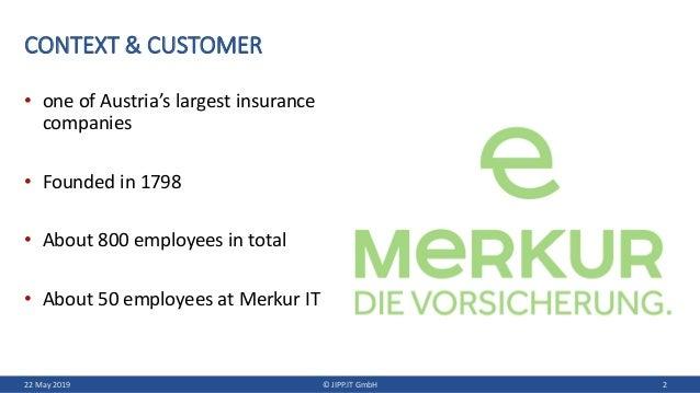 LeSS Introduction at Merkur Insurance Slide 2