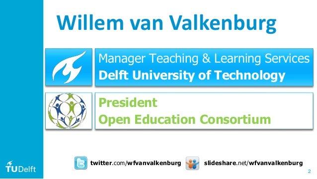 TU Delft Open & Online Education for SEFI PTEE2019 Slide 2