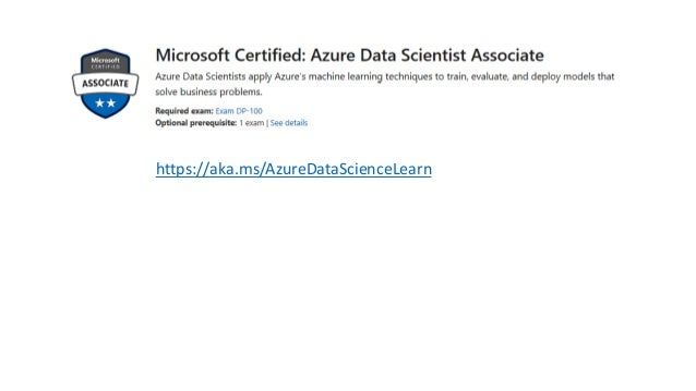 201905 Azure Certification DP-100: Designing and Implementing a Data …