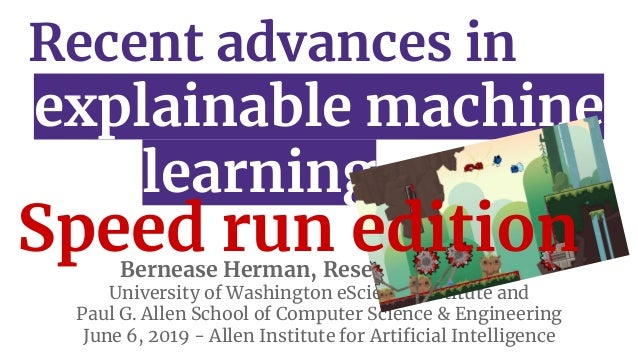 Rsqrd AI: Recent Advances in Explainable Machine Learning Research Slide 2