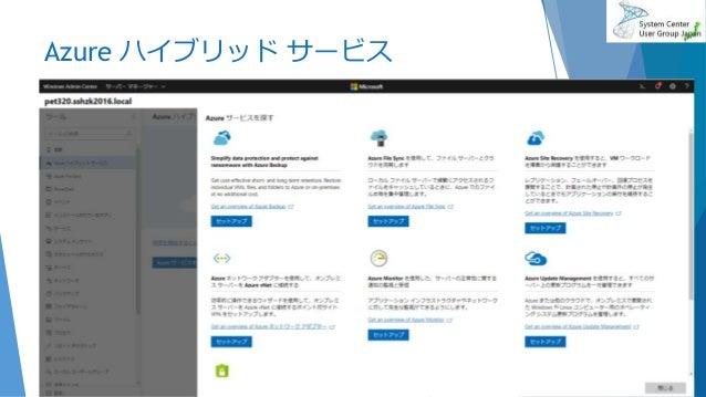 Azure ハイブリッド サービス 2019/6/29 38