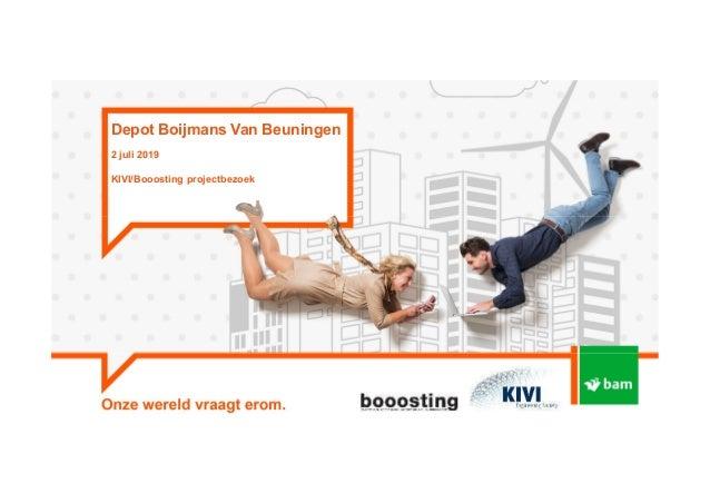 Depot Boijmans Van Beuningen 2 juli 2019 KIVI/Booosting projectbezoek