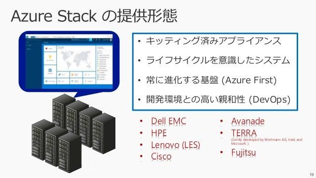 27 ※ Azure DevOps によるハイブリッドな CI/CD も! https://azure.microsoft.com/en-us/blog/the-importance-of-azure-stack-for-devops/