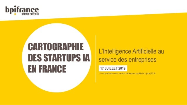 Les start-up françaises de l'intelligence artificielle se multiplient