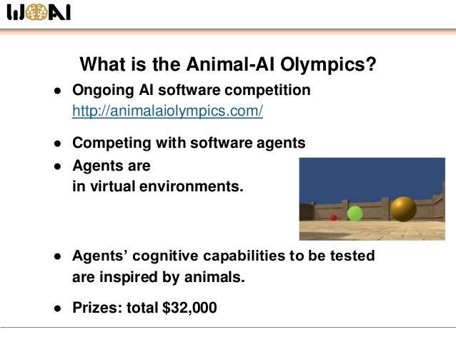 Animal-AI Olympics Outline @ Kick-Off MeetUp Tokyo Slide 2