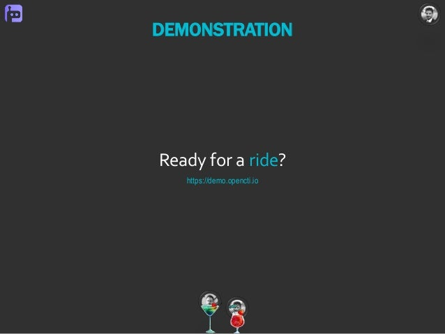 Ready for a ride? https://demo.opencti.io DEMONSTRATION