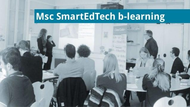 Msc SmartEdTech b-learning