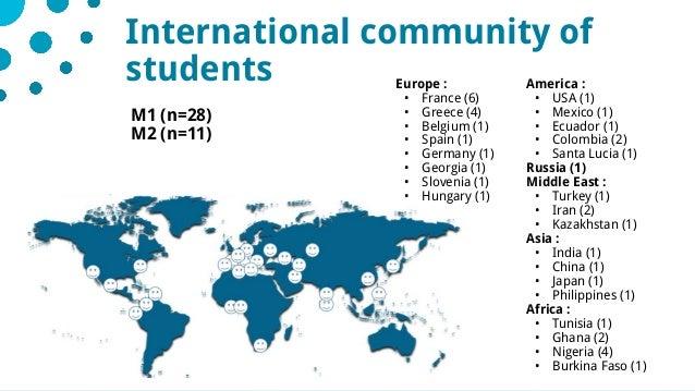 1528/05/2019Comité stratégique de l'IDEX International community of students America : • USA (1) • Mexico (1) • Ecuador (1...
