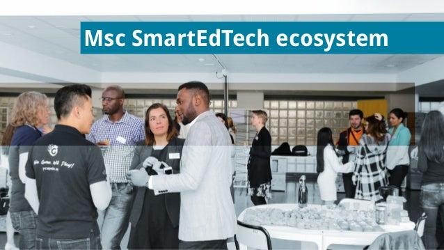 Msc SmartEdTech ecosystem