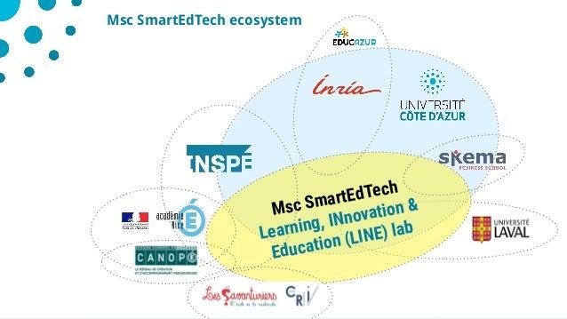 928/05/2019 Msc SmartEdTech ecosystem Msc SmartEdTech Learning, INnovation & Education (LINE) lab