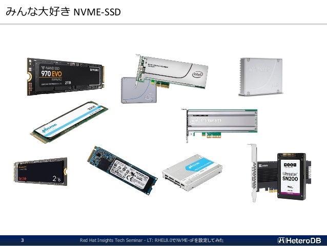 みんな大好き NVME-SSD Red Hat Insights Tech Seminar - LT: RHEL8.0でNVME-oFを設定してみた3