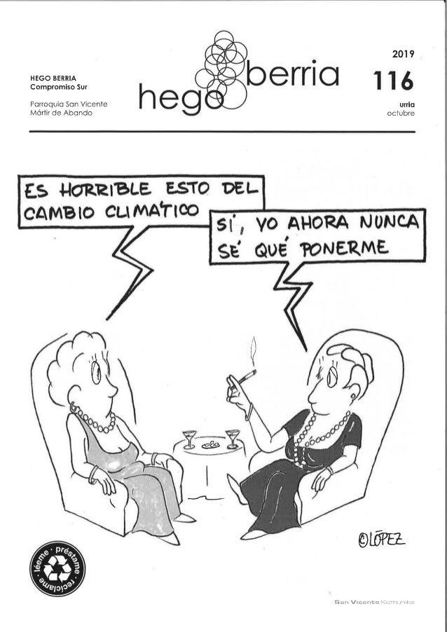 Hego Berria 116 Octubre 2019