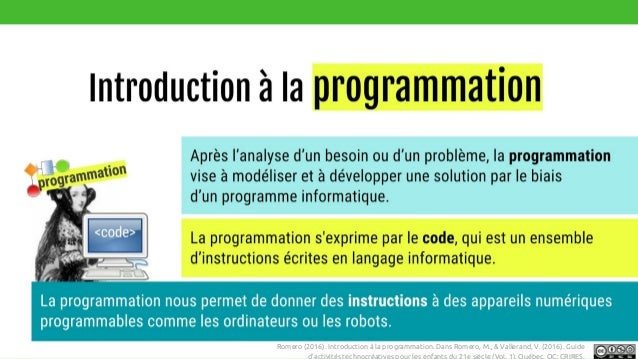 BBC Bytesize. http://www.bbc.co.uk/education/guides/zttrcdm/revisionRomero (2016). Introduction à la programmation. Dans R...