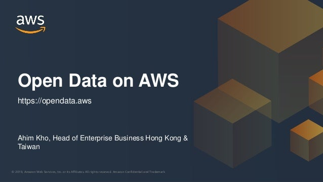 © 2019, Amazon Web Services, Inc. or its Affiliates. All rights reserved. Amazon Confidential and Trademark© 2019, Amazon ...