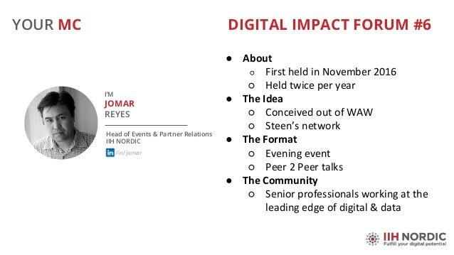 Digital Impact Forum Nov 7 Slide 2