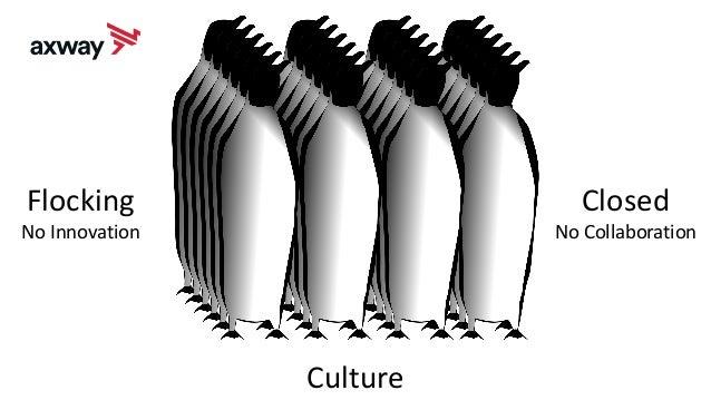 Culture Flocking No Innovation Closed No Collaboration