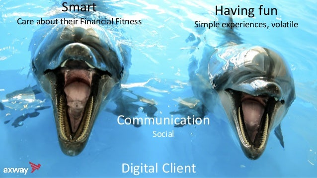Digital Client Communication Social Having fun Simple experiences, volatile Smart Care about their Financial Fitness