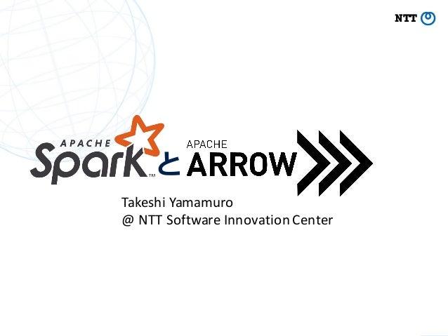 と TakeshiYamamuro @NTTSoftwareInnovationCenter