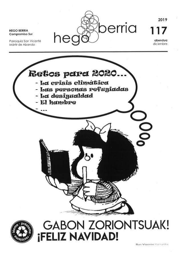 Hego Berria 117 dIciembre 2019