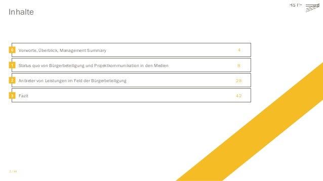 Deutscher Akzeptanzatlas: Status quo von Bürgerbeteiligung und Projektkommunikation sowie ihren Anbietern  Slide 3