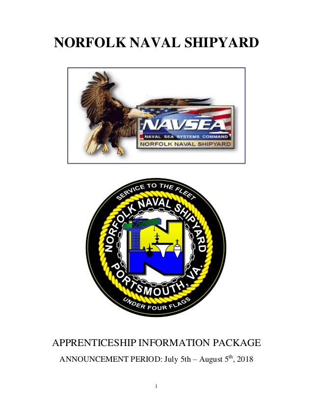 The 2019 NNSY Apprentice Hiring Information Package