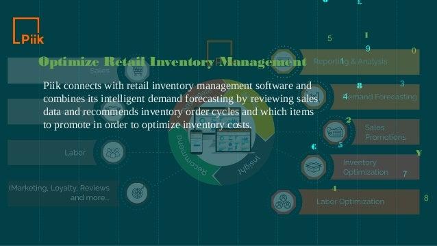 2019 best retail management software - Piik Insights Inc