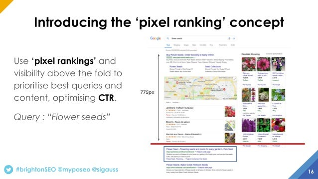 Build SEO content strategy based on SERP and competitive analysis - Brighton 2019 Talk