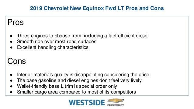 New 2019 Chevrolet Equinox FWD LT – Westside Chevrolet