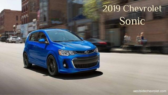 2019 Chevrolet Sonic westsidechevrolet.com