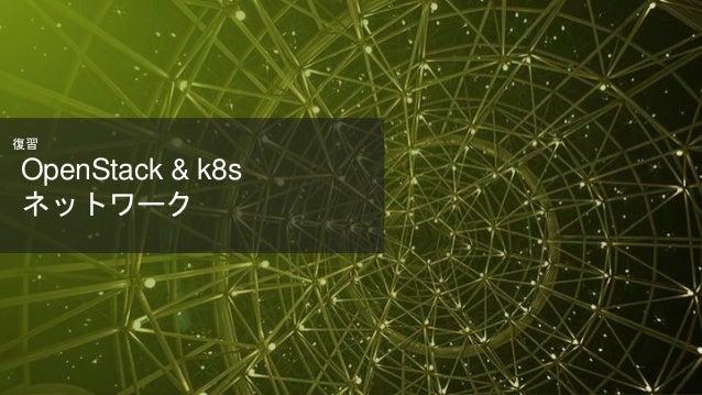 © 2018 Juniper Networks OpenStack & k8s ネットワーク 復習