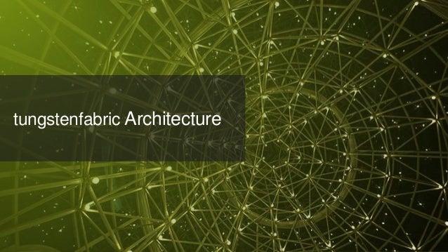 © 2018 Juniper Networks tungstenfabric Architecture