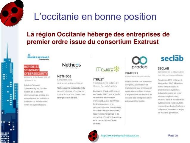 http://www.personalinteractor.eu L'occitanie en bonne position La région Occitanie héberge des entreprises de premier ordr...