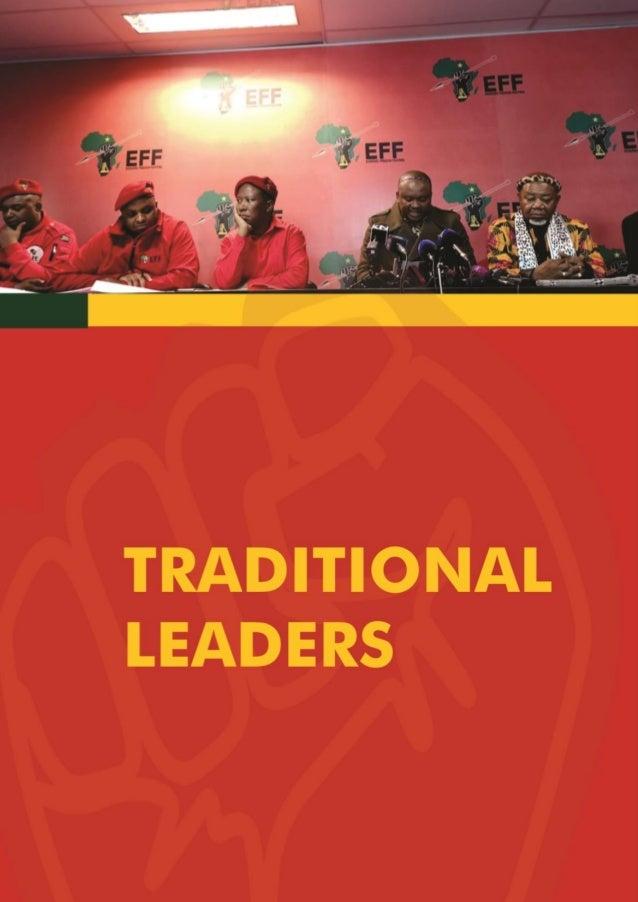 EFF 2019 election manifesto