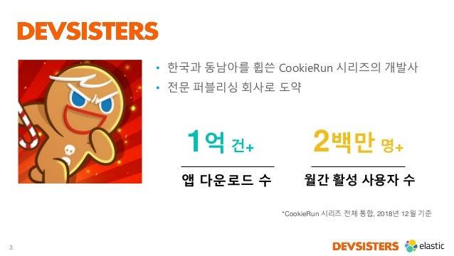 3 • 한국과 동남아를 휩쓴 CookieRun 시리즈의 개발사 • 전문 퍼블리싱 회사로 도약 앱 다운로드 수 1억 건+ 월간 활성 사용자 수 2백만 명+ *CookieRun 시리즈 전체 통합, 2018년 12월 기준