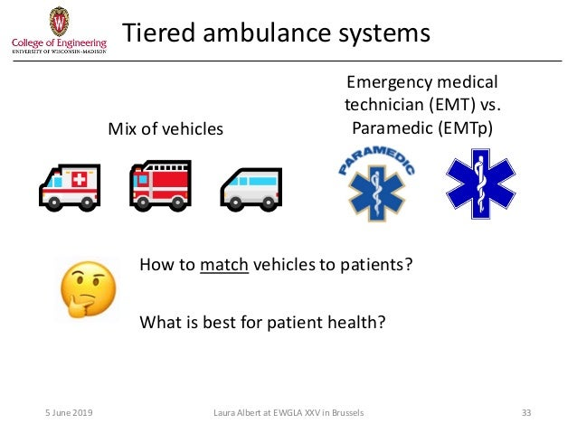 On designing public sector systems in emergency medical