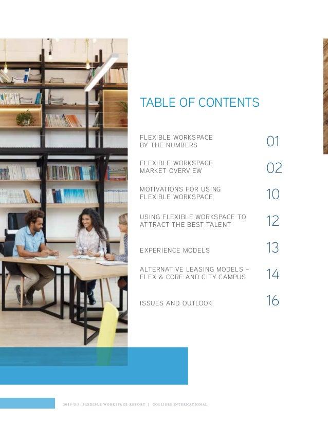 Colliers International: U S  Flexible Workspace Outlook Report