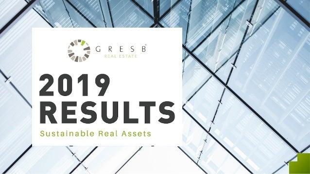 Investors GRESB Assessment Managers INVESTOR PERSPECTIVE ESG ANALYTICS ESG ANALYTICS ESG PERFORMANCE DATA GRESB – Real Ass...