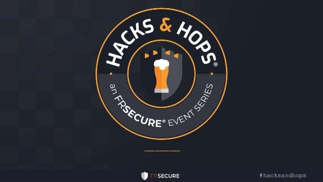 _________________ #hacksandhops
