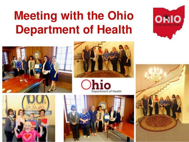 Meeting with the Ohio Department of Health