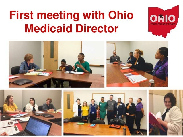 First meeting with Ohio Medicaid Director