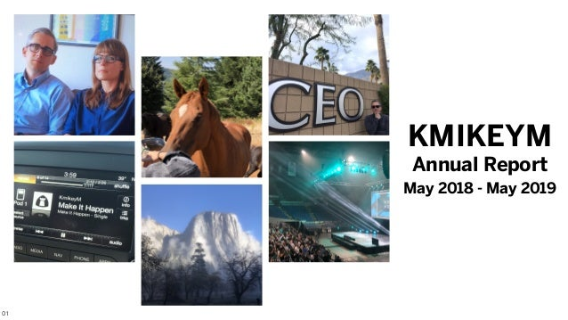 Annual Report May 2018 - May 2019 KMIKEYM 01