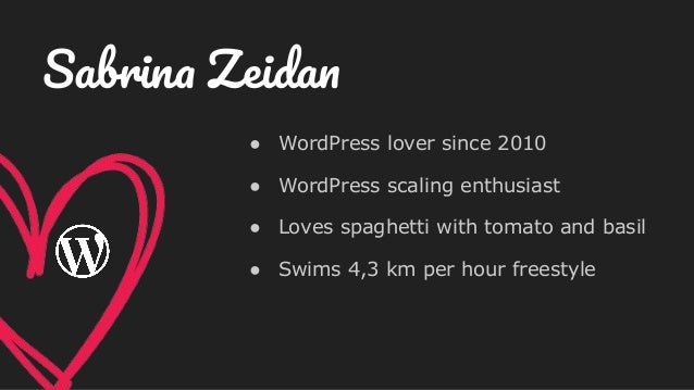 ● WordPress lover since 2010 ● WordPress scaling enthusiast ● Loves spaghetti with tomato and basil ● Swims 4,3 km per hou...